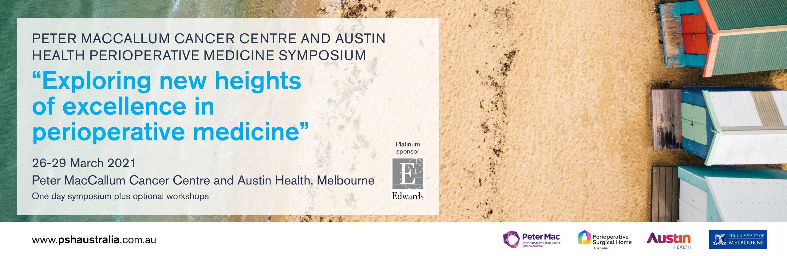 Peter MacCallum Cancer Centre and Austin Health Perioperative Medicine Symposium